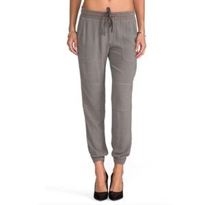 JAMES PERSE Crepe Utility Jogger-Style Pant